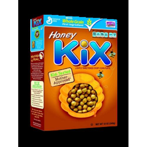 Kix Honey Cereal (340gm) - Breakfast Cereals