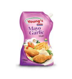 Young's French Mayo Garlic (200Ml)