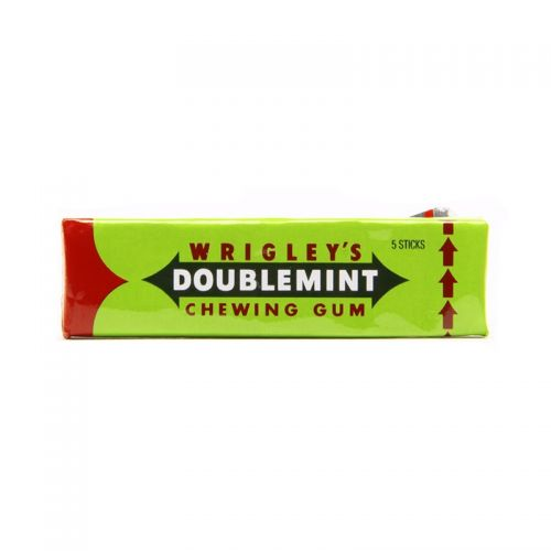 wrigley 39 s double mint chewing gum pack of 5 chocolates sweets. Black Bedroom Furniture Sets. Home Design Ideas