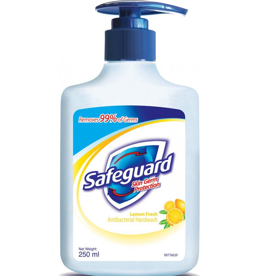 Safeguard Hand Wash Lemon 250ml Soap Amp Hand Wash