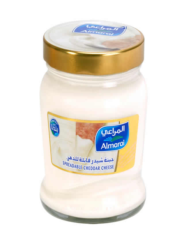 Almarai Cheddar Cheese 240gm Jams Jelly Cheese