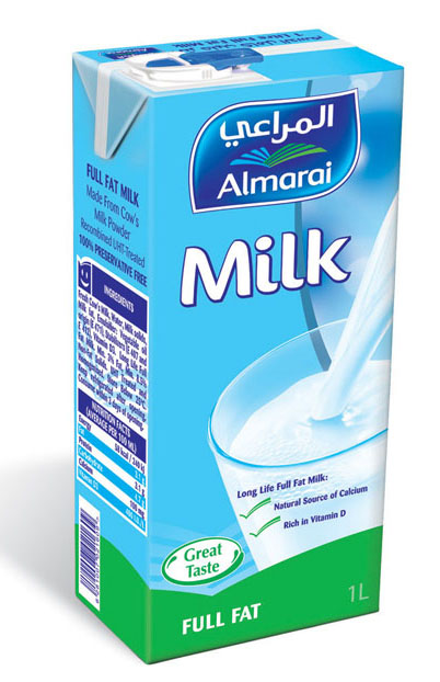 Almarai Milk Full Fat 1ltr Dairy Drinks Gomart Pk