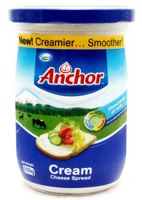 Anchor Cream Cheese 510gm Jams Jelly Cheese Spreads