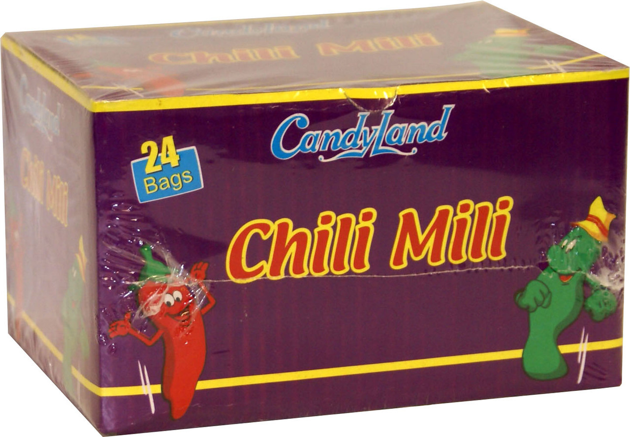 Candyland Chilli Milli 24bag Chocolates Amp Sweets