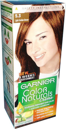 Garnier Color Naturals No 5 3 Light Golden Brown Hair