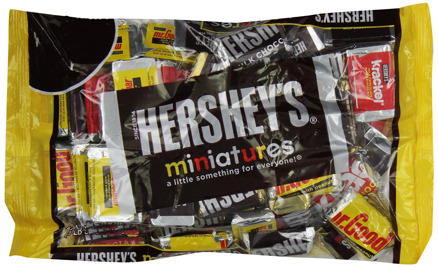 Hershey S Miniature Assortment 340gm Chocolates