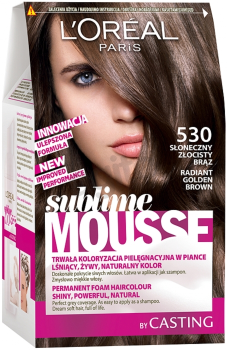 Loreal Paris Sublime Mousse 530 Radiant Golden Brown
