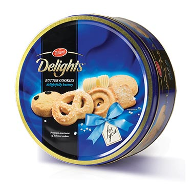 Soft Tub For Sale >> Tiffany Delights Butter Cookies Tub - Snacks/chips ...
