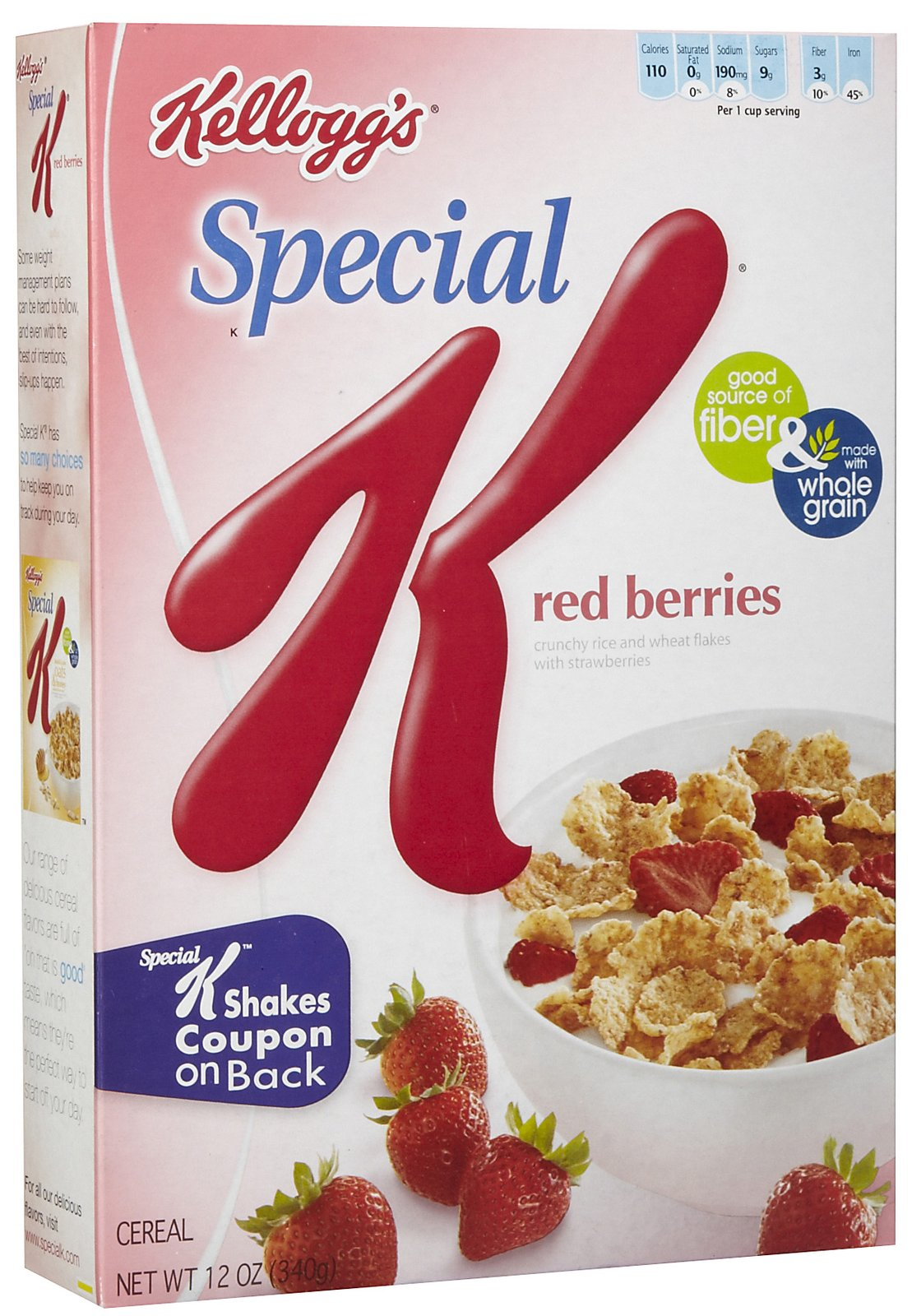 Kellogg S Special Red Berries 500gms Breakfast Cereals
