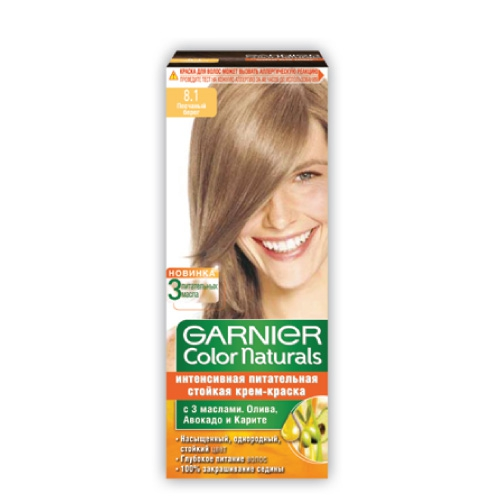 Garnier Color Naturals No 8 1 Light Ash Blonde Hair