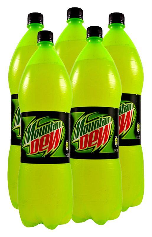 Mountain dew bottle history