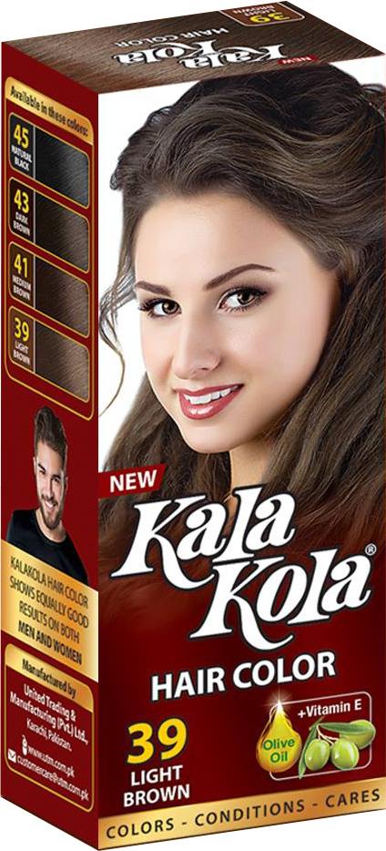 Kala Kola Hair Colour Light Brown 39 Hair Color Amp Dye
