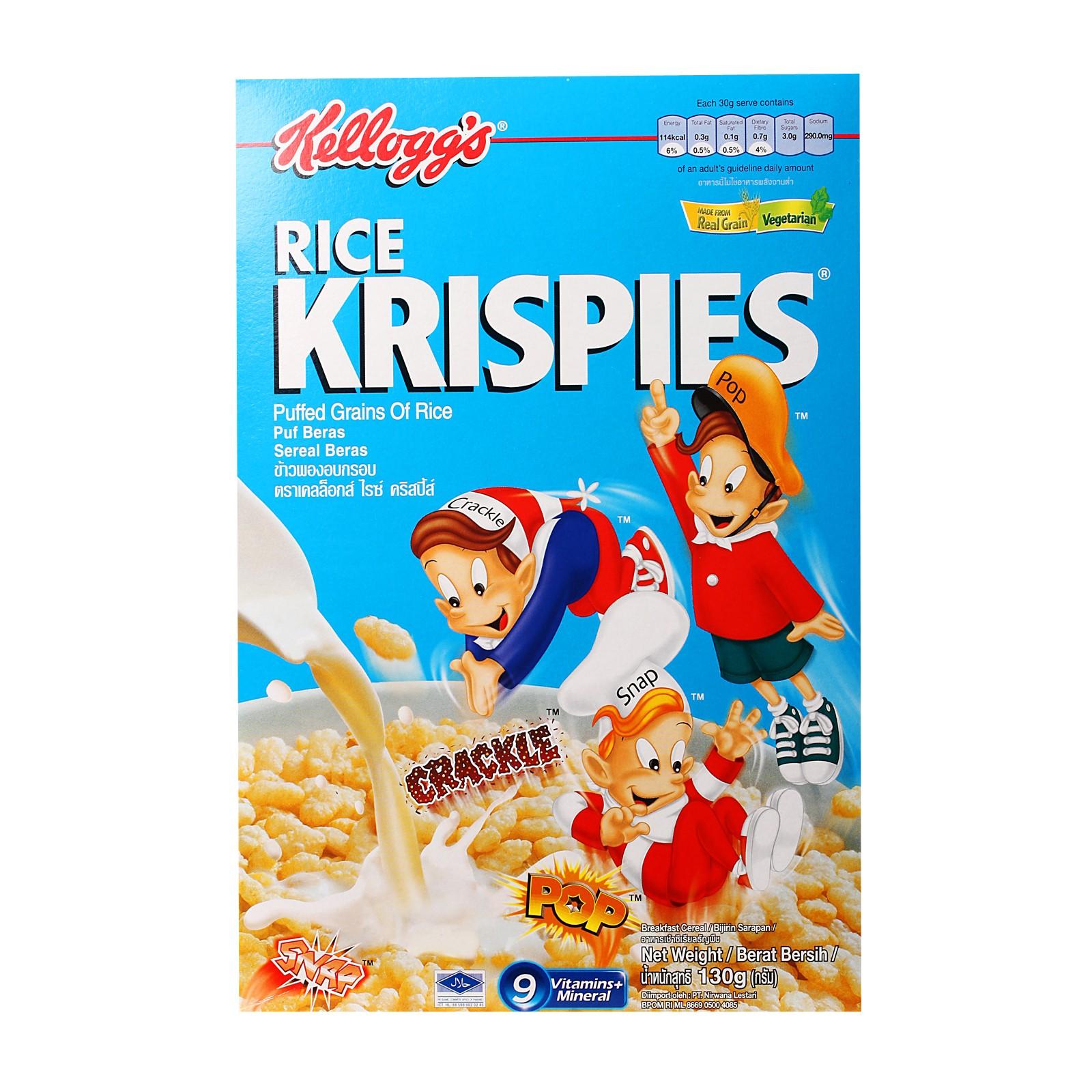 Kellogg S Rice Krispies Cereal 130gm Breakfast Cereals