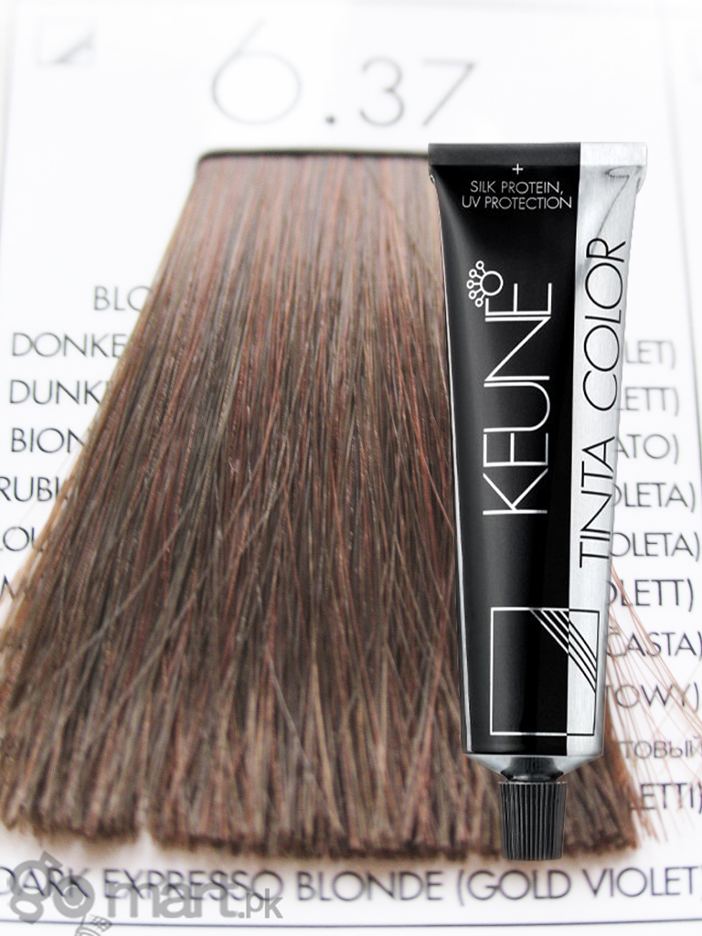 Keune Tinta Color Dark Expresso Blonde Gold Violet 6 37