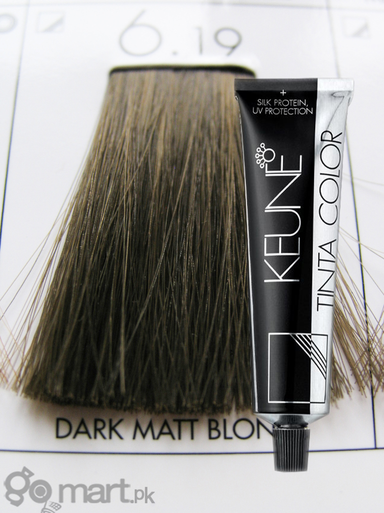 Keune Tinta Color Dark Matt Blonde 6 19 Hair Color Amp Dye
