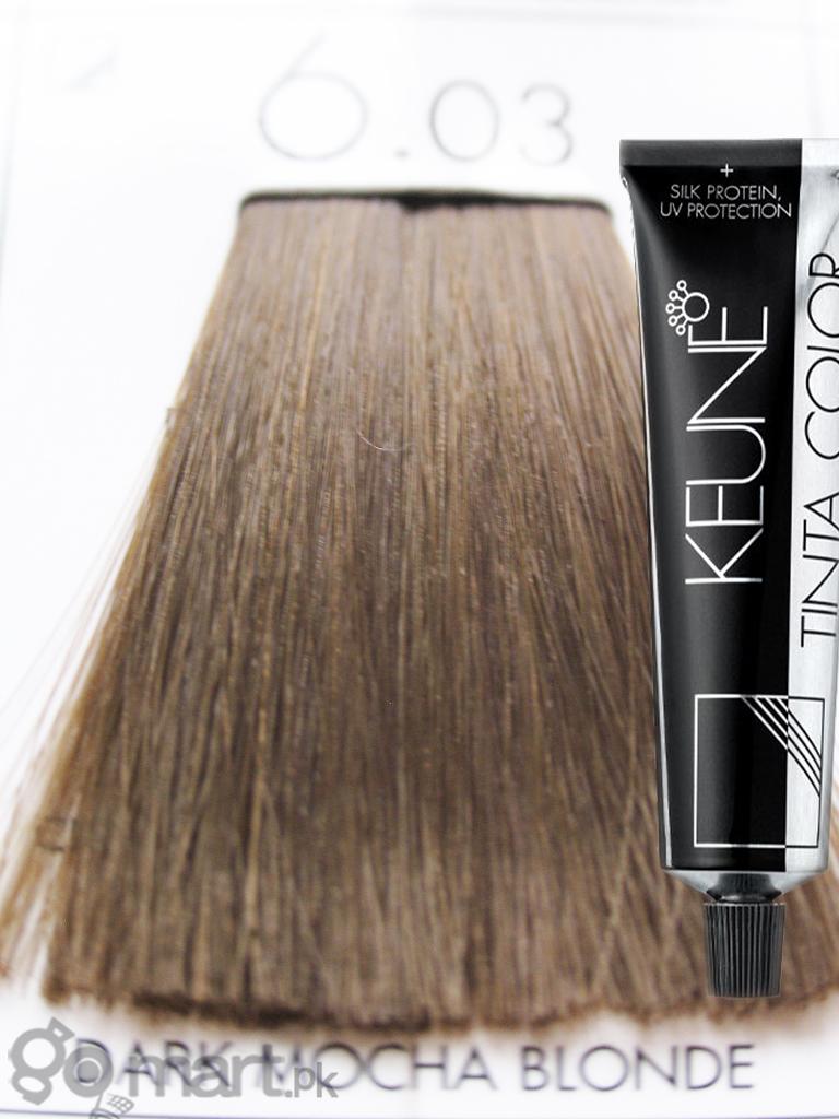 Keune Tinta Color Dark Mocha Blonde 603 Hair Color Dye Gomart