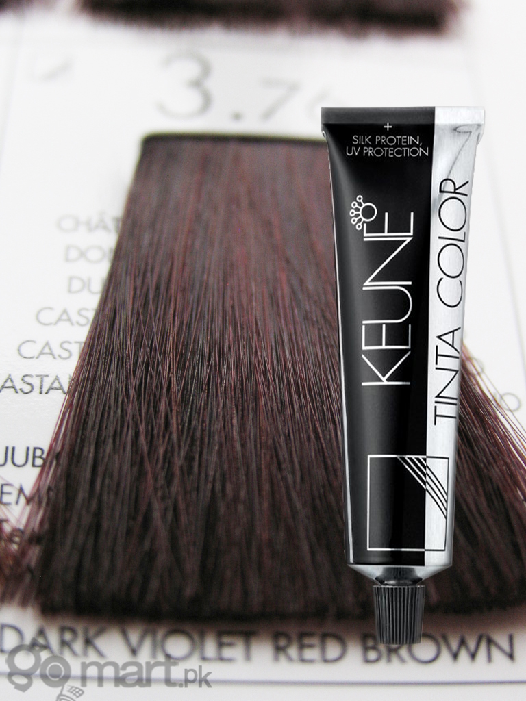Keune Tinta Color Dark Violet Red Brown 3 76 Hair Color