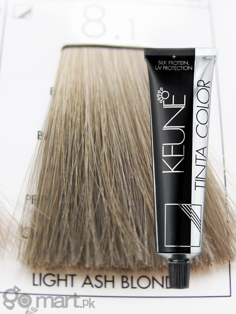 Keune Tinta Color Light Ash Blonde 8 1 Hair Color Amp Dye