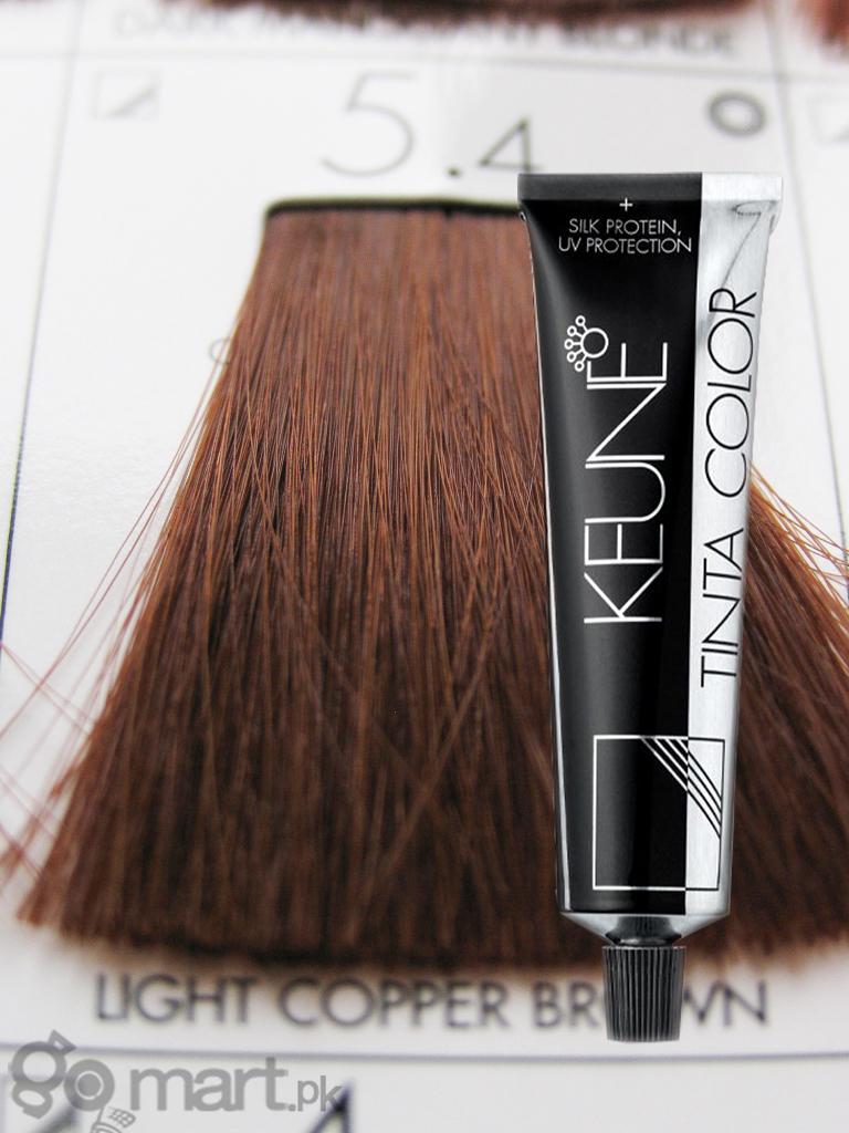 Keune Tinta Color Light Copper Brown 5 4 Hair Color
