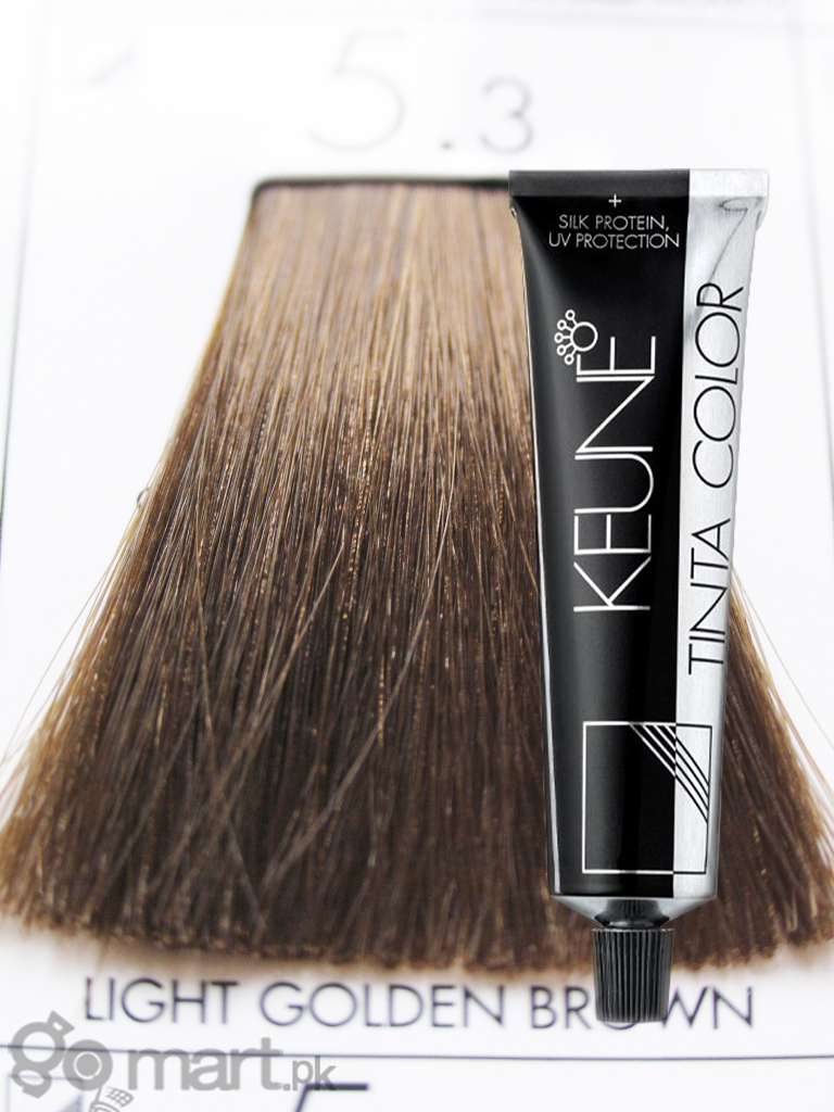 Keune Tinta Color Light Golden Brown 53  Hair Color Amp Dye  Gomartpk