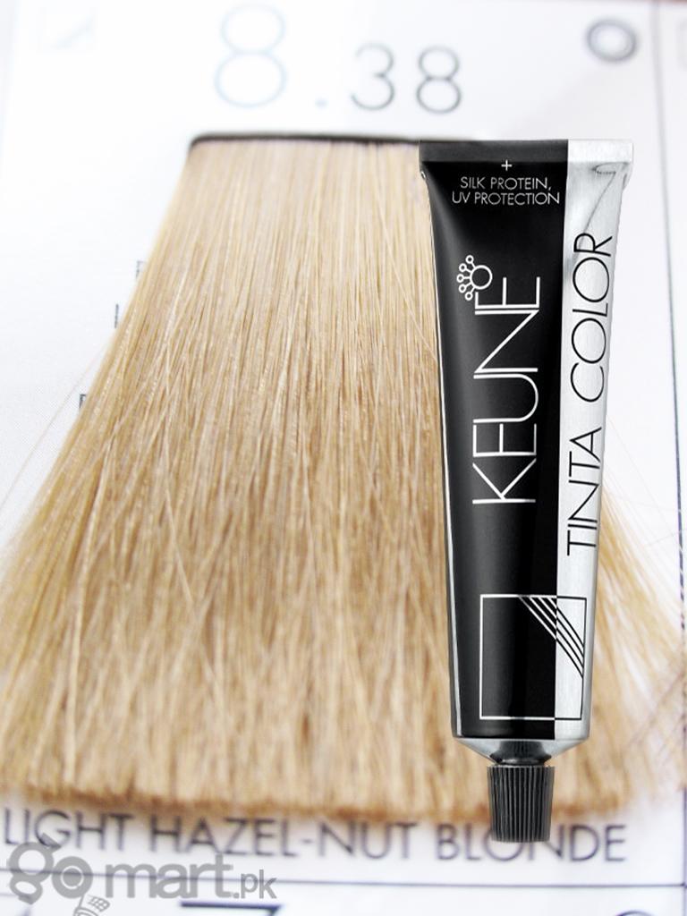 Keune Tinta Color Light Hazel Nut Blonde 8 38 Hair Color