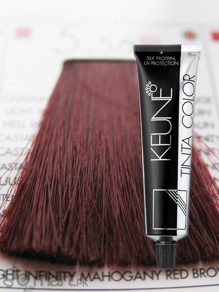 Keune Tinta Color Light Infinity Mahogany Red Brown Ri 5