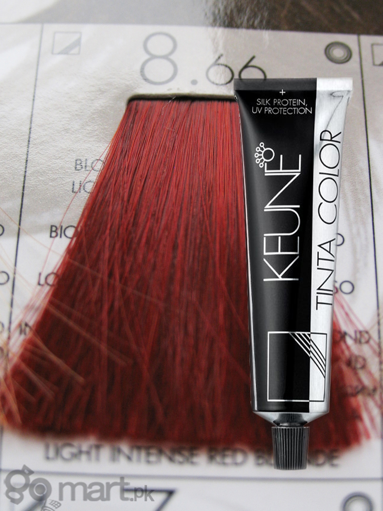 Keune Tinta Color Light Intense Red Blonde 8 66 Hair