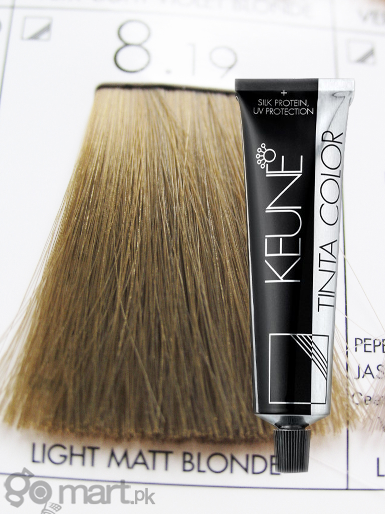 Keune Tinta Color Light Matt Blonde 8 19 Hair Color