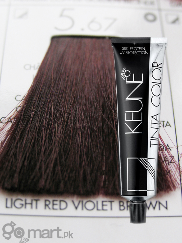 Keune Tinta Color Light Red Violet Brown 5 67 Hair Color