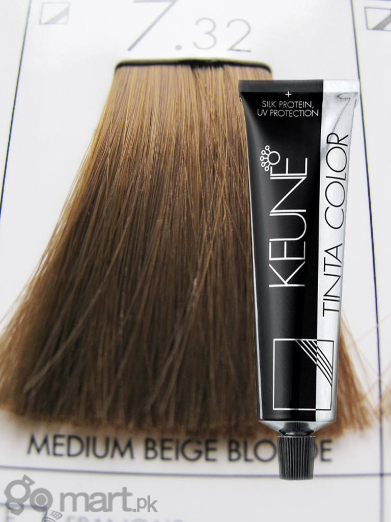 Keune Tinta Color Medium Beige Blonde 7 32 Hair Color