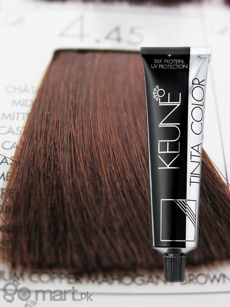 Keune Tinta Color Medium Copper Mahogany Brown 445 Hair Color