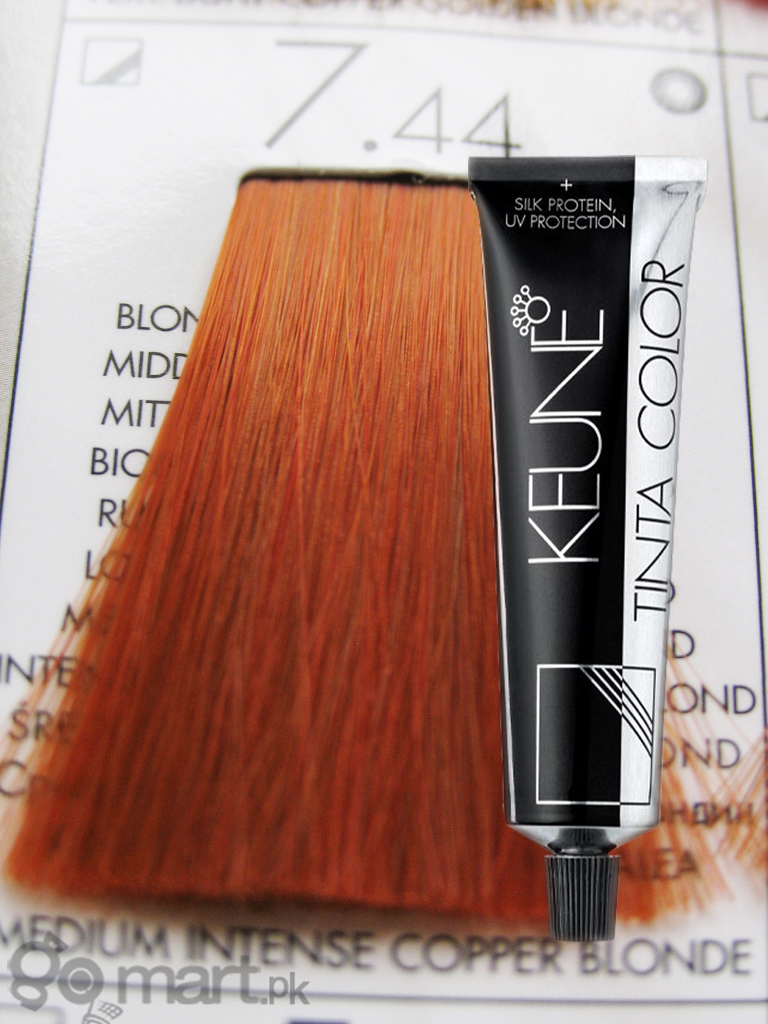 Keune Tinta Color Medium Intense Copper Blonde 7 44 Hair