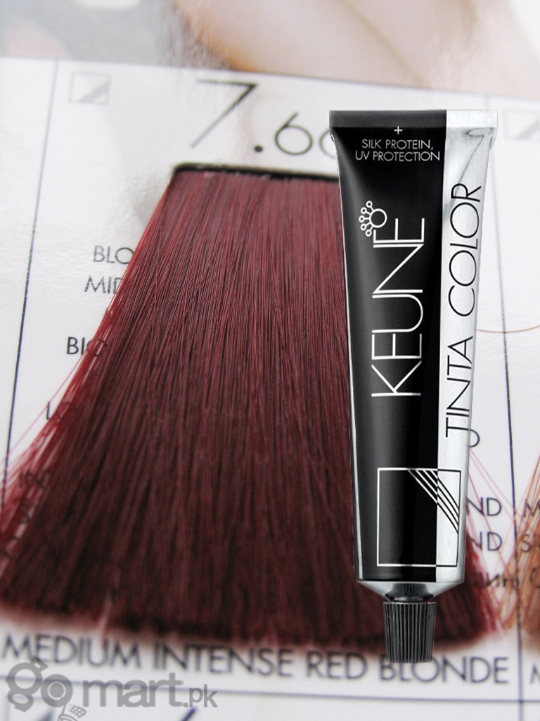 Keune Tinta Color Medium Intense Red Blonde 7 66 Hair
