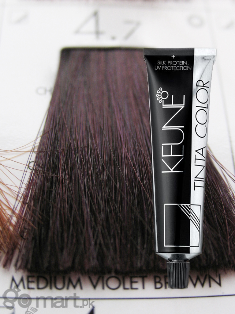 Keune Tinta Color Medium Vilet Brown 4 7 Hair Color