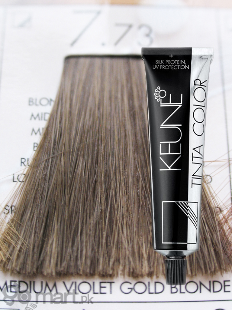 Keune Tinta Color Medium Violet Gold Blonde 7 73 Hair