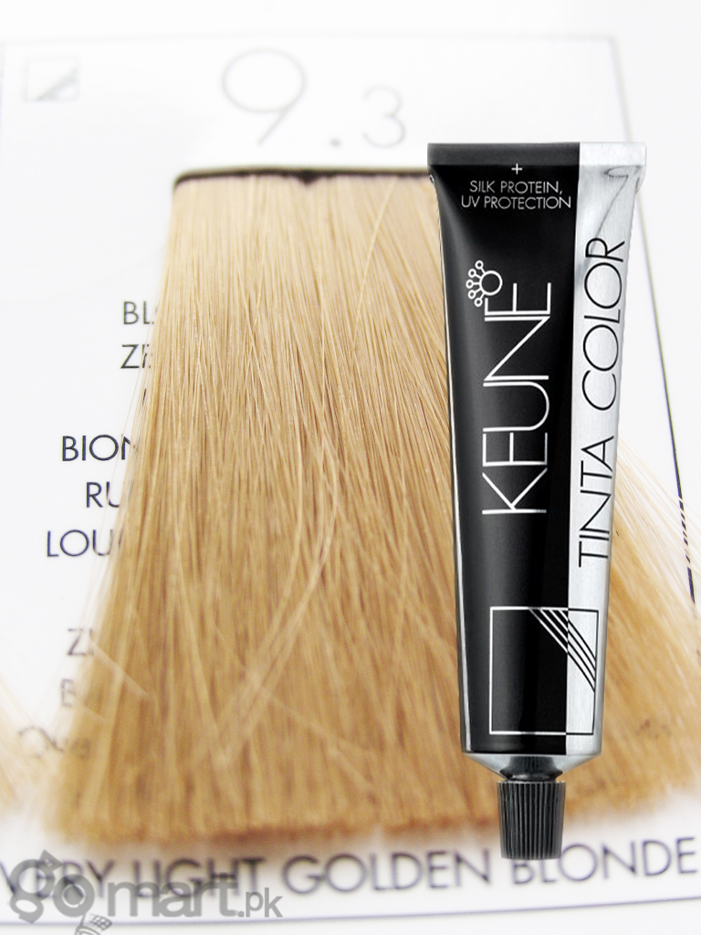 Keune Tinta Color Very Light Golden Blonde 93 Hair Color Dye