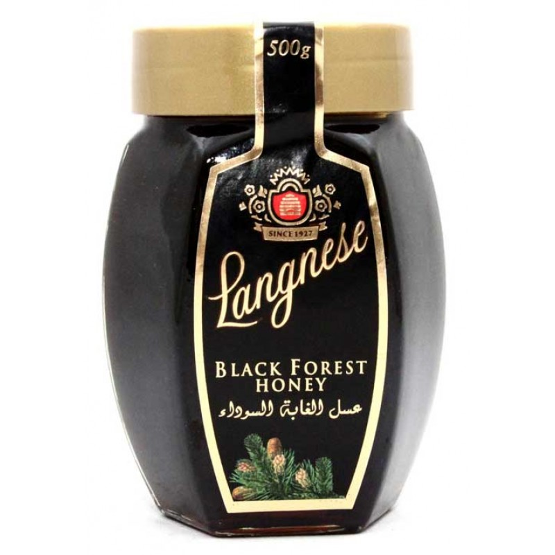 Langnese Black Forest Honey 500gm Jams Jelly Cheese