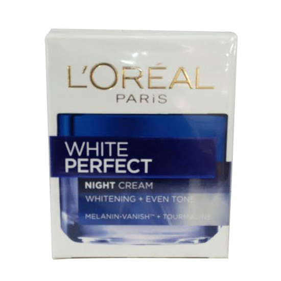Loreal White Perfect Night Whitening Plus Eventone Face