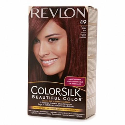Revlon Colorsilk Hair Color Dye Auburn Brown 49 Hair
