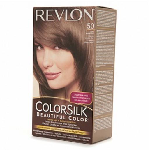 Revlon Colorsilk Hair Color Dye  Light Ash Brown 50  Hair Color Amp Dye