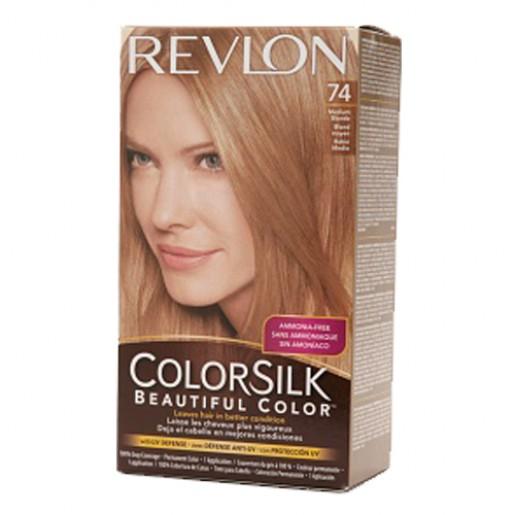 Revlon Colorsilk Hair Color Dye Medium Blonde 74 Hair