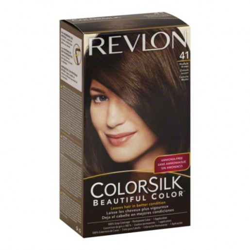 Revlon Colorsilk Hair Color Dye  Medium Brown 41  Hair Color Amp Dye  Go