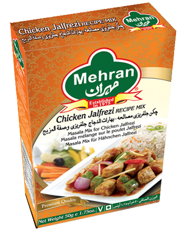 Mehran Chicken Jalfrezi Recipe Mix 50gm Spices Gomart Pk