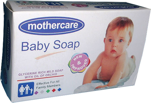 Mothercare Baby Soap White 80gm Shampoo Lotion Soap