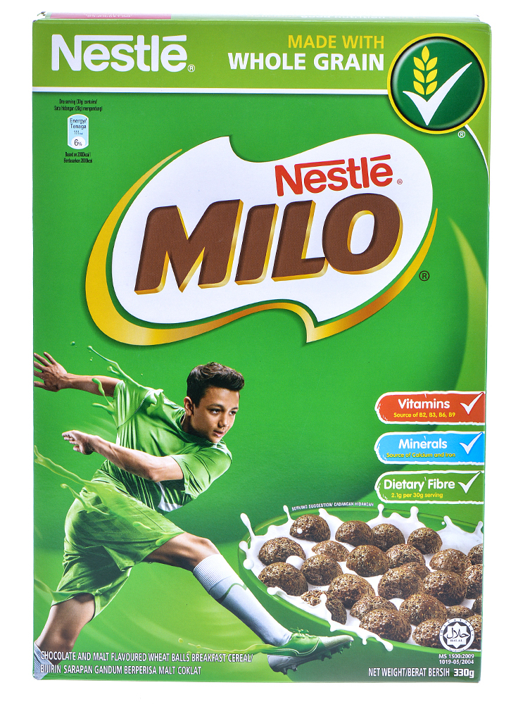 Nestle Milo Cereals 330gm Drinks Gt Dairy Drinks