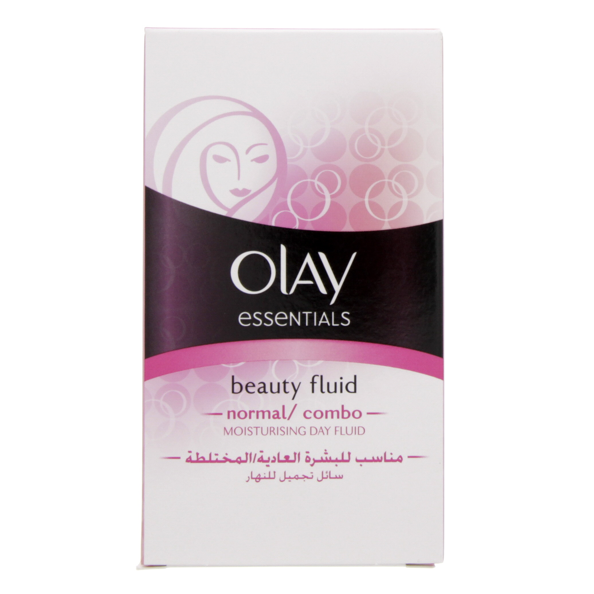 Olay Essentials Beauty Fluid Normal And Combo Skin 100ml Moisturising Lotion Care