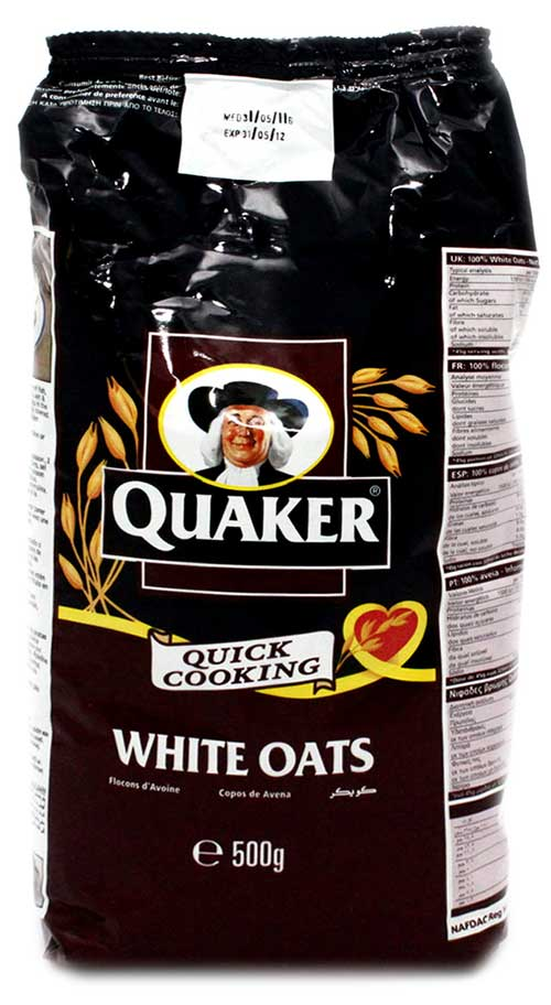 Quaker White Oats Pouch 500gm Breakfast Cereals