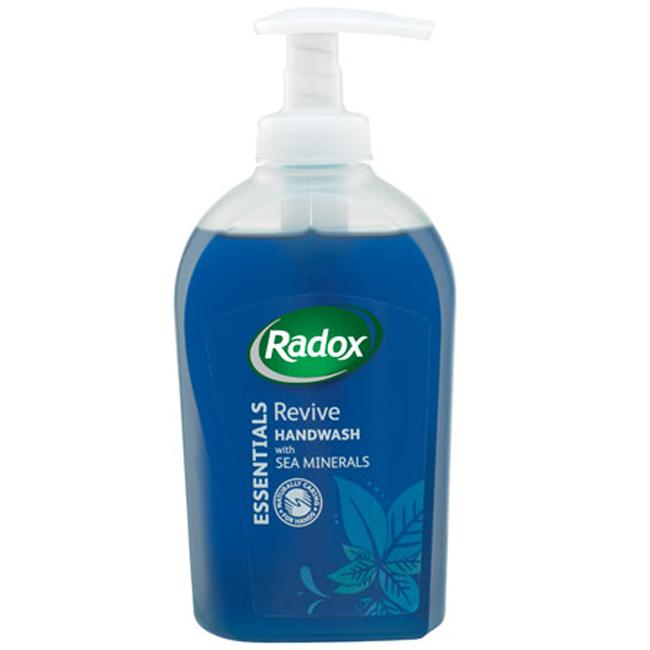 Radox Essentials Hand Wash Revive 300ml Soap Amp Hand
