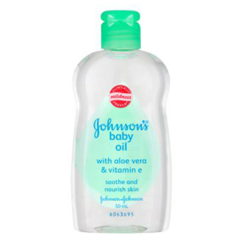 Johnsons Baby Oil With Aloe Vera Amp Vitamin E 50ml Oil
