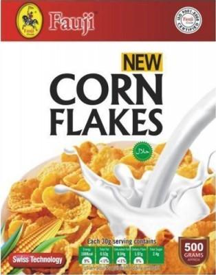 Fauji Corn Flakes 500gms Breakfast Cereals Gomart Pk
